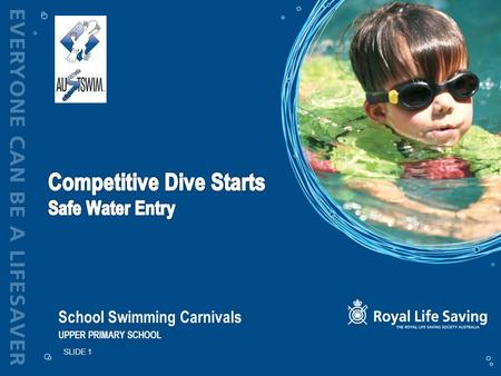 School Swimming Carnivals UPPER PRIMARY SCHOOL SLIDE 1.
