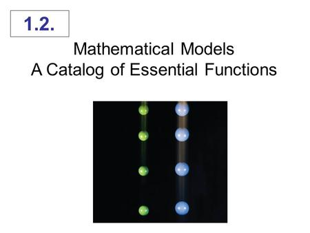A Catalog of Essential Functions