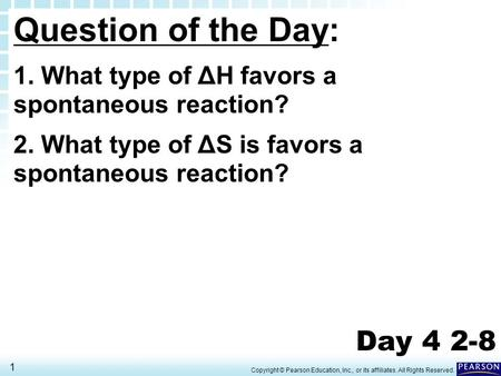 Question of the Day: Day 4 2-8