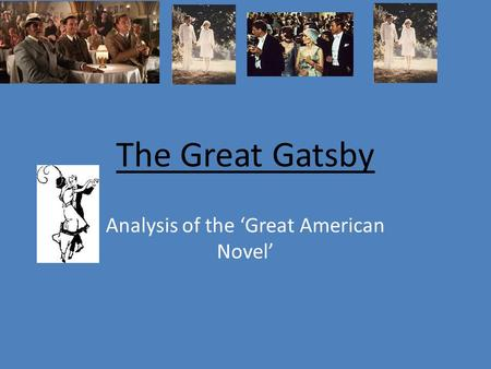 an analysis of the value of jay gatsby in the novel the great gatsby by f scott fitzgerald Gatsby analysis isolation is a significant and recurring theme throughout the novel the great gatsby, by f scott fitzgerald, that has had a great impact on its characters a few in particular are nick carraway, daisy buchanan, and jay gatsby nick who appears to be everyone's closest.