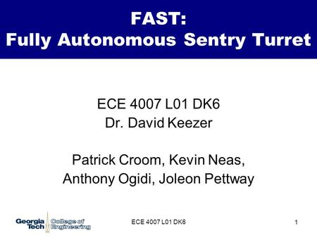 FAST: Fully Autonomous Sentry Turret