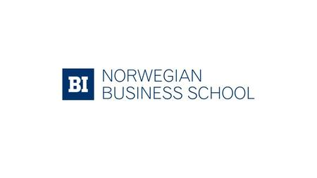 BI Norwegian Business School BI builds the knowledge economy.
