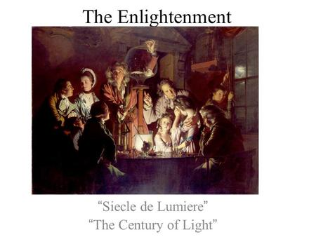 enlightenment philosophers of europe in 17th Get this from a library electronic enlightenment [electronic enlightenment project oxford university press] -- searchable and browseable database offering extensive access to the web of correspondence between the.