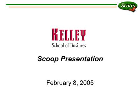 Scoop Presentation February 8, 2005. Who Are We?