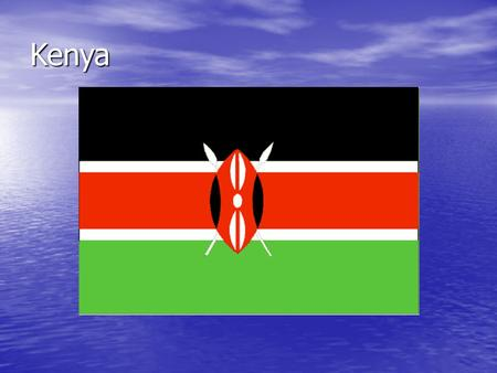 Kenya. Thesis: Statement Aid to Kenya is the right policy because it helps the people of this nation, but also keeps Kenya an ally of the U.S. in the.