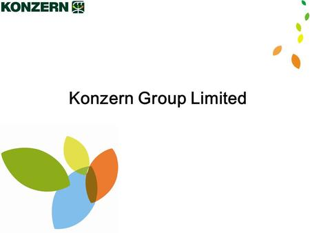 1 Konzern Group Limited. 2 Company Overview CMC (China Medicine Corporation) registered in Nevada, USA, is a comprehensive enterprise with a research.