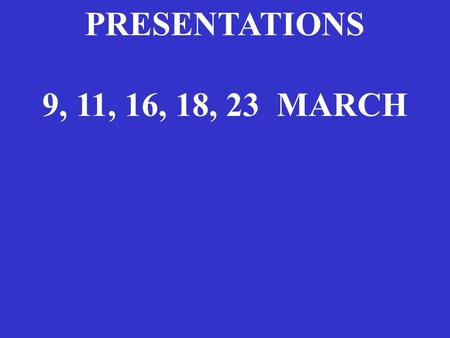 PRESENTATIONS 9, 11, 16, 18, 23 MARCH. 3 Carbohydrate/lipid/protein/alcohol 4/9/4/7 kcal/gram 17/37/17/29 kJ/gram Note alcohol = ethanol.