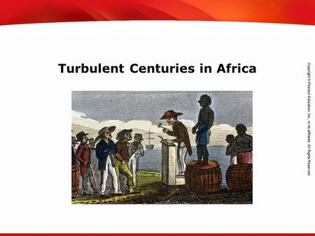 TEKS 8C: Calculate percent composition and empirical and molecular formulas. Turbulent Centuries in Africa.