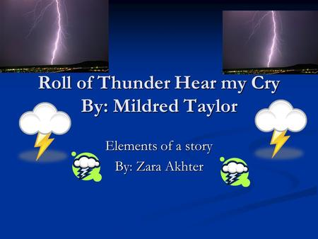 roll of thunder hear my cry the book online