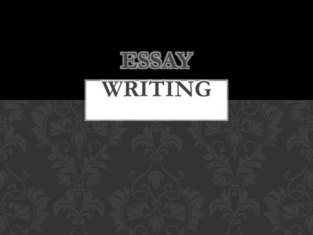 In English in years 10 and HSC/DP, you will need to write essays. These are usually text responses. We are going to go through the basics in this PPT.