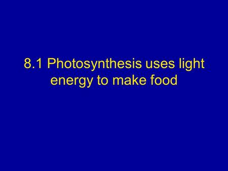 Which Organelle Uses Light Energy To Make Food In Plants