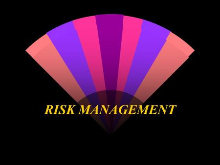 RISK MANAGEMENT. THE EMERGENCY PLAN Reduce risk of injury and litigation: Have an Emergency Plan & Practice It! Pre determined actions in the event of.