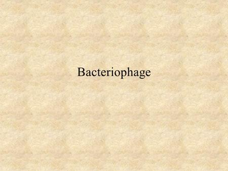 Bacteriophage. Bacteriophage (Phage) Definition - Obligate intracellular parasites that multiply inside bacteria by making use of some or all of the host.