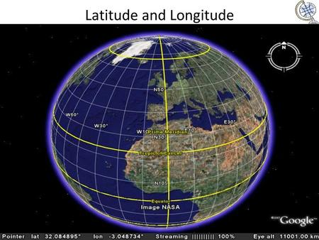 Latitude and Longitude. Latitude Latitude lines are imaginary horizontal lines on a world or large area map. Latitude lines separate the world into.