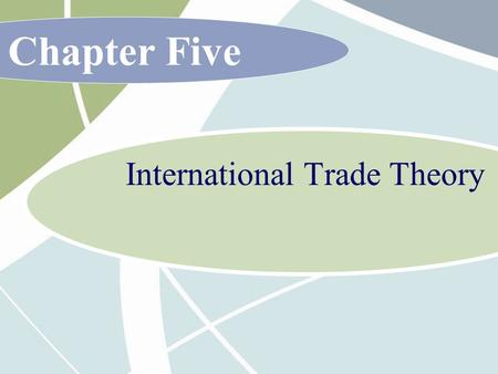 Chapter Five International Trade Theory. 5 - 2 McGraw-Hill/Irwin International Business, 6/e © 2007 The McGraw-Hill Companies, Inc., All Rights Reserved.