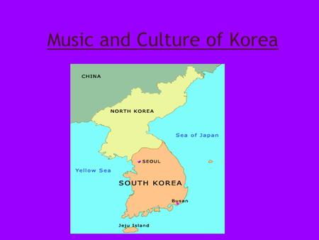 Music and Culture of Korea. Korean Folk Music Korean folk music is varied and complex, but all forms maintain a set of rhythms called Jangdan and a loosely.