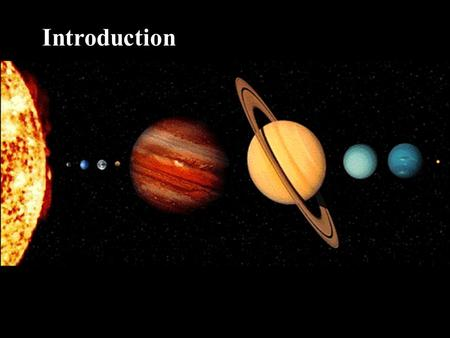 Inner Terrestrial Planets Introduction. Planets are characterized by composition, density, and distance from the sun. The inner planets are smaller and.
