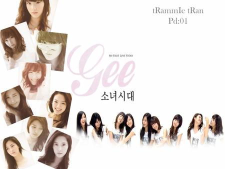 TRammIe tRan Pd:01. 소녀시대 Girls' Generation The nine members of Girls' Generation are Taeyeon, Jessica, Sunny, Tiffany, Hyoyeon, Yuri, Sooyoung, Yoona.