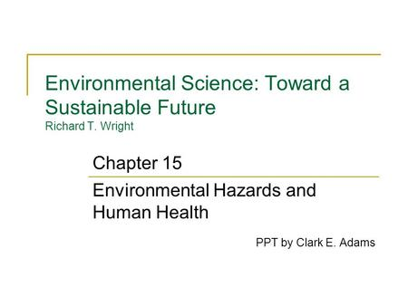 causes of environmental hazards pdf