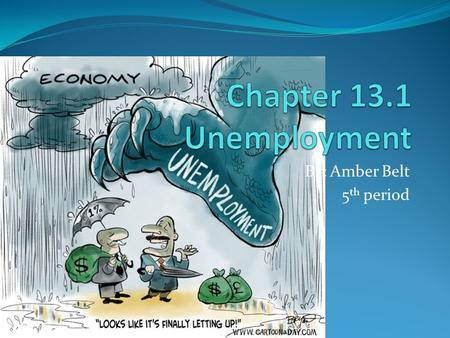 By: Amber Belt 5 th period. Types of Unemployment It always exists even in a booming economy. Not just a personal issue it is an issue nationally. Frictional.
