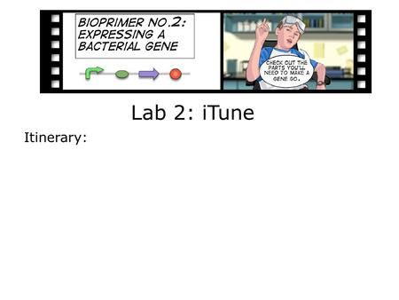 Lab 2: iTune Itinerary:. An engineering paradigm The focus of this lab Design Build Test.