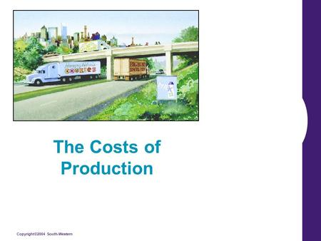 Copyright©2004 South-Western The Costs of Production.