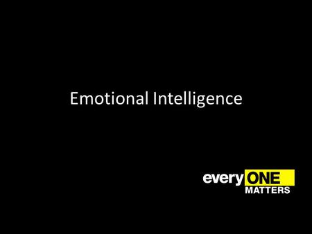 Emotional Intelligence. Definition Emotional Intelligence is the ability to monitor one's own and other people's emotions. You can use your own emotions.