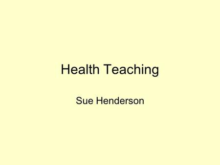Health Teaching Sue Henderson. The consumer needs to know: name of the drug (chemical and brand) what the drugs is prescribed for (Indications); dosage.