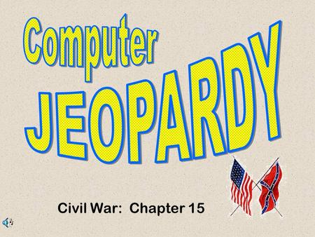 Civil War: Chapter 15 Don't Forget... Contestants.