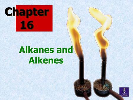 Chapter 16 Alkanes and Alkenes. ORGANIC CHEMISTRY Chemistry of CARBON compounds Organic compounds contain numerous carbon atoms Over 2 millions organic.