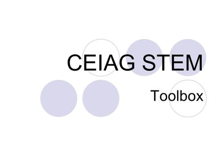 CEIAG STEM Toolbox. STEM Top 40 Which Sector? Top 40 NI Companies Place each of the companies in their relevant Sector  What are the main sectors represented?