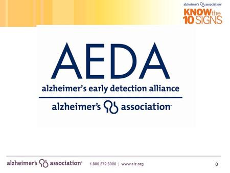 1.800.272.3900 | www.alz.org 0. 1 > Alzheimer's disease is fast becoming one the greatest medial challenges facing American's today  6 th leading cause.
