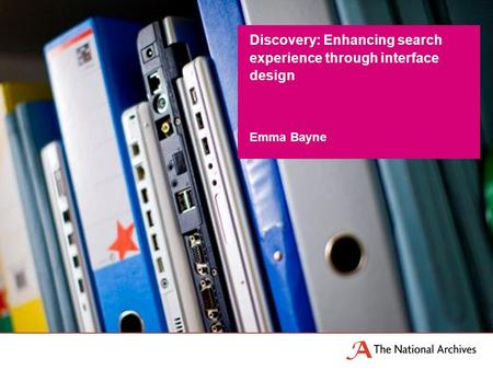 Emma Bayne Discovery: Enhancing search experience through interface design.