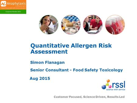 Quantitative Allergen Risk Assessment