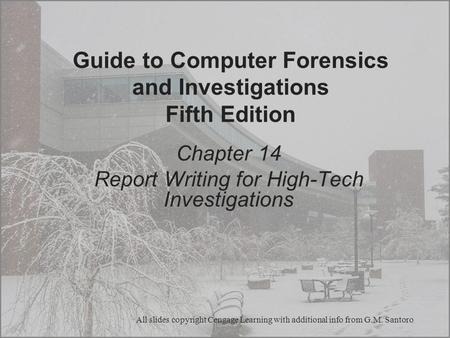 Guide to Computer Forensics and Investigations Fifth Edition