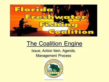 The Coalition Engine Issue, Action Item, Agenda, Management Process.
