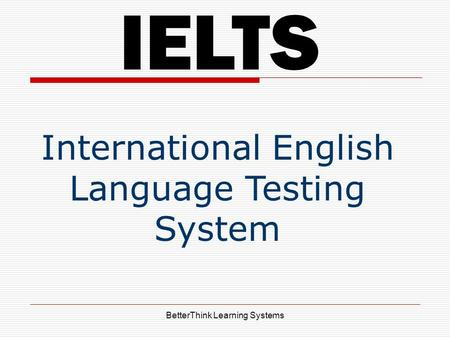 "why do i need ielts Why study ielts home » ielts tips »  ""why do people study ielts"" or ""should i study ielts"" then first you need to look at a bigger question."