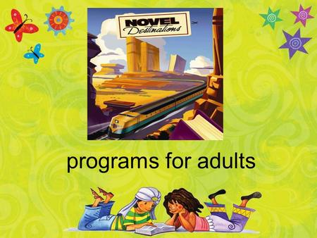 Programs for adults. book club travelers for the u.s.a.