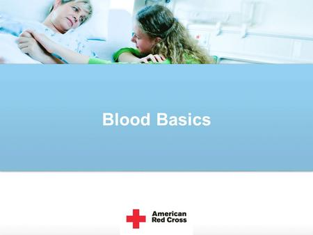 Blood Basics. Blood. What is it? There are four main components of blood. Red Blood Cells White Blood Cells Platelets Plasma.