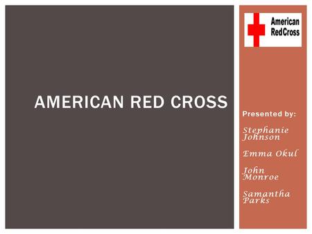 "clara burtons role to the american red cross organization Pioneer clara barton, founder of the american red cross tribune-democrat: marker commemorates clara clara barton"" the organization is."