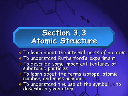 was the use of the atomic