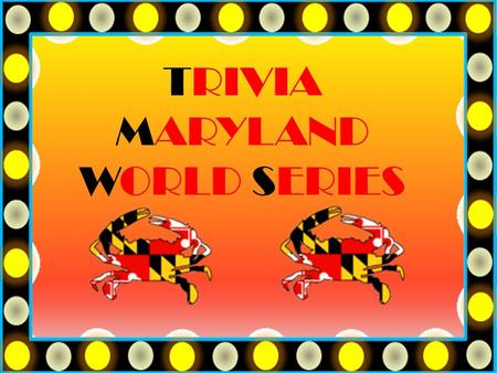 TRIVIA MARYLAND WORLD SERIES. QUESTION # 1 WORLD COUNTRIES ICELAND GAINED INDEPENDENCE FROM WHICH COUNTRY IN 1944?