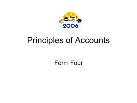 Principles of Accounts Form Four. What is accounting The uses to which data recorded by bookkeeping can be put for various purposes. Recording accounting.