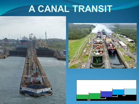 A CANAL TRANSIT. PANAMA CANAL OVERVIEW LOCK CONTROL TOWERS MIRAFLORES LOCKS.