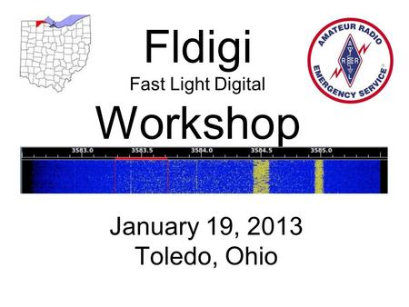 Fldigi Fast Light Digital Workshop