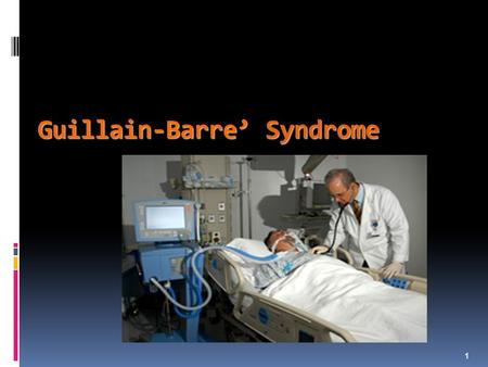 Guillain-Barre' Syndrome 1. Concept Map: Selected Topics in Neurological Nursing PATHOPHYSIOLOGY Traumatic Brain Injury Spinal Cord Injury Specific Disease.