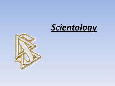 Scientology. Scientology describes itself as the study and handling of the spirit in relationship to itself, others, and all of life. Quick Introduction.