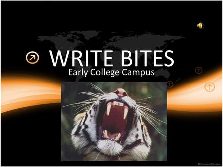 WRITE BITES Early College Campus PLOT: it is the most important element of drama—more important than character, for example. A plot must have, a beginning,