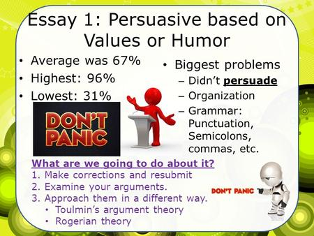 Funny Persuasive Essays