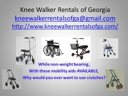 Knee Walker Rentals of Georgia